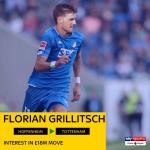 Sky Sports reporting Spurs have an interest in Hoffenheim midfielder Florian Grillitsch