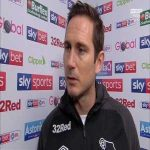 """I don't care if it's cultural."" Lampard pre-match interview on Biesla"