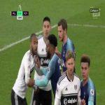 Fulham [1]:0 Tottenham Hotspur - Fernando Llorente 17' (o.g.)
