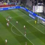 Nice 2-0 Nimes - Allan Saint-Maximin 54'