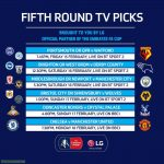 FA Cup Fifth Round TV Picks