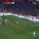 Marcelo's chance vs Girona (Copa del Rey)