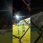 Amazing FK in Argentina's lower leagues (loudness warning)