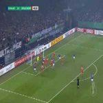 Schalke 2-0 Dusseldorf - Salif Sane 48'