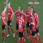Freiburg 2-0 Augsburg - Vincenzo Grifo free-kick 30'