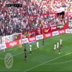 Sevilla 2-[2] Barcelona : Messi 67'