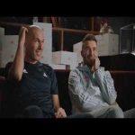 New Adidas ad featuring Zidane and Beckham