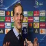 Thomas Tuchel interview talking about Barca's 6-1 historic comeback.