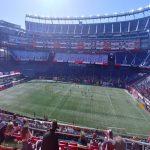 Shameful attendance at the New England Revolution match tonight (MLS)