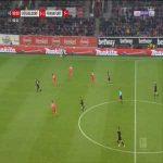 Düsseldorf 0-2 Frankfurt - Sebastien Haller 90'+1'