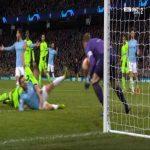 Manchester City 1-0 Schalke [4-2 on agg.] - Sergio Aguero penalty 35' (+ call)