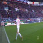 Augsburg [2]-1 Hannover - Jonathan Schmid free-kick 78'