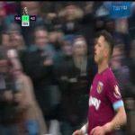 West Ham [3]-3 Huddersfield: Chicharito