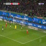 Wolfsburg 4-[2] Düsseldorf - Benito Raman 65'