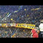 "Dynamo Dresden supporters chanting ""East East East Germany"" in Hamburg"