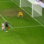 [UEFA Europa] Slavia Praha's Mick van Buren in extra time.