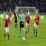 Kosovo 1-[1] Denmark - Christian Eriksen penalty 63'