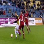 Martin Ödegaard (Vitesse) says goodbye to AZ player Koopmeiners