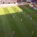 Augsburg 0-2 Hoffenheim - Ishak Belfodil 61'