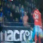 Club Brugge [1]-0 Standard Liège — Zinho Vanheusden hilarious own goal 22'