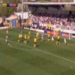 Burton 1-[2] Portsmouth - Matt Clarke 90'+2'