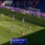 West Brom 1-[1] Hull - Todd Kane 48'