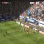 Hamburg 0-1 Aue - Philipp Zulechner 43'