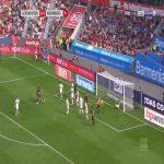 Leverkusen 1-0 Nurnberg - Lucas Alario 61'