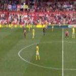 Brentford 1-0 Leeds - Neal Maupay 45'