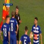 Wisła Płock 1-[1] Korona Kielce - Elia Soriano 41' (penalty, Polish Ekstraklasa)