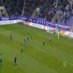 Aue 1-0 Bochum - Philipp Zulechner 7'