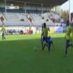 Faith Obilor (HJK) straight red card against FC Inter 36' [Finnish Veikkausliiga]