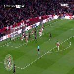 Arsenal 0-[1] Valencia : Diakhaby 11'