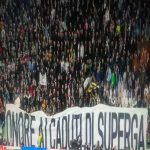 """Juventus banner towards Torino """"Honour to the Fallen of Superga"""" Tomorrow marks the 70th anniversary of the Superga air disaster."""