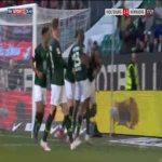 Wolfsburg 2-0 Nurnberg - Marcel Tisserand 78'