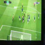 Kepa Arrizabalaga top corner save vs Watford