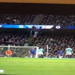 Manchester City fan going to toilet right as Kompany scored his wonder goal