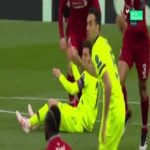 Robertson incident with Messi