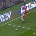 Lokomotiv Moscow 2-0 Kazan - Fedor Smolov 10'