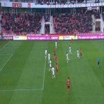 Dijon 1-0 Strasbourg - Julio Tavares penalty 40'