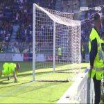 Fantastic save from Alessio Cragno (Cagliari) to deny Milan Badelj a brilliant goal