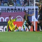 Sporting 1-0 Tondela - Bruno Fernandes penalty 6'