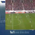 Stuttgart 2-0 Wolfsburg - Anastasios Donis 55'