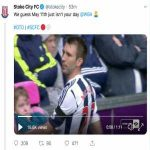 WBA on Twitter : Ahhh, @stokecity. A few reasons why it was wise to delete this tweet 🙃 1) You finished 16th. 2) We beat you twice this year. 3) You finished 25 points behind us. 4) Your season was over in Feb. 5) 46 games. Just 45 goals. 6) Again. You finished 16th. Get back to the beach 🏖