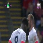 Crystal Palace 3-[1] Bournemouth: Jefferson Lerma