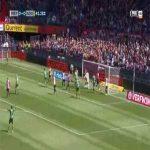 Feyenoord 0-1 Den Haag - Erik Falkenburg 42'