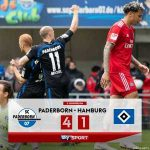 Following their 4-1 loss to Paderborn, Hamburger SV will remain in the 2. Bundesliga