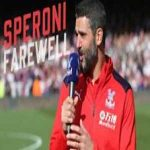 After 15 years with Crystal Palace, Julian Speroni said an emotional farewell to the fans ❤️  🎥 Crystal Palace Football Club