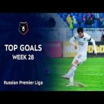 Top goals in Russian Premier League matchweek 28