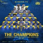 Al Nassr FC are the 2018/2019 Saudi Arabia national champions!